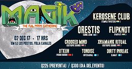 Party Flyer Magik FullMoON 2 Dec '17, 16:00