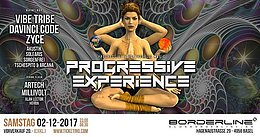 Party Flyer Progressive Experience Vibe Tribe / DaVinci Code / Zyce 2 Dec '17, 23:00