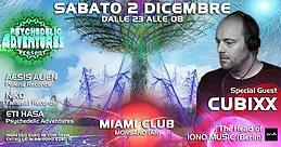 Party Flyer Psychedelic Adventures present Cubixx 2 Dec '17, 23:00