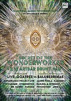 Party Flyer Secret of the Wonderworker 6. - psychedelic masked party 2 Dec '17, 21:00