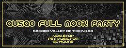 Party Flyer QUSQO FULL MOON PARTY 3 Dec '17, 13:00