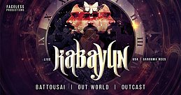 Faceless presents - KABAYUN & FRIENDS - Barcelona 9 Dec '17, 23:00