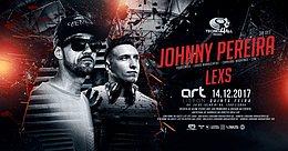 Party Flyer Techno 4All invite Johnny Pereira & Lexs Art Lisbon 14.12.2017 14 Dec '17, 23:30