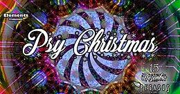 Party Flyer Psy Christmas - indoor party - Pegasus Azores 15 Dec '17, 22:00