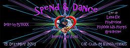 Party Flyer Spend & Dance Benefiz 15 Dec '17, 22:00