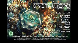Party Flyer Crystallized 16 Dec '17, 20:00