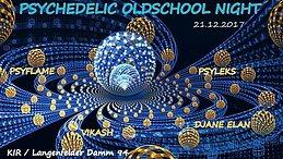 Party Flyer ॐ Psychedelic Oldschool Night ॐ 21 Dec '17, 20:00