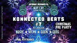 Party Flyer Konnected Beats #7 23 Dec '17, 20:00