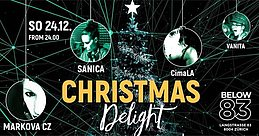 Party Flyer Christmas Delight at Below83 24 Dec '17, 23:55