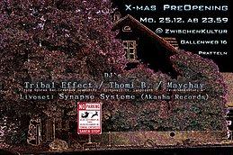 Party Flyer X-Mas Pre-Opening 25 Dec '17, 23:30