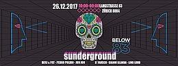 Party Flyer Sunderground Afterhour 26. Dez. 17, 10:00