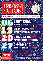 Party Flyer FREAKY FICTION 27 Dec '17, 23:00