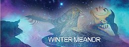 Party Flyer Winter Meandr /psychedelic trance&techno&house party free entry 27. Dez. 17, 21:00