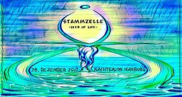 Party Flyer Stammzelle -seed of life- 28 Dec '17, 22:00