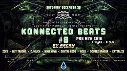 Party Flyer Konnected Beats #8 PRE NYE Special Edition 30 Dec '17, 21:00