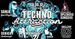 Party Flyer Techno Attraction 30 Dec '17, 23:55