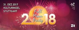 Party Flyer Full Moon Party Silvester - Return to Zollamt 31 Dec '17, 21:00