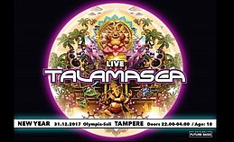 Party Flyer Future Bass New Year Event. w/ Talamasca (LIVE set) 31 Dec '17, 22:00