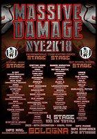 Party Flyer Massive Damage Nye 31 Dec '17, 22:00