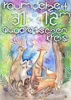 Party Flyer ☸ Raum der Zeit im quadratischen Kreis VI ☸ 31 Dec '17, 21:00