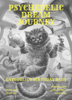 Party Flyer PSYCHEDELIC DREAM JOURNEY *Gatodelic's Birthday Bash* 5 Jan '18, 22:00