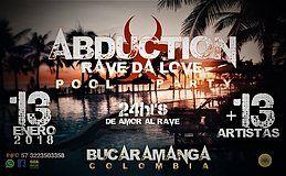 Party Flyer Abduction 2018 Rave da Love 13 Jan '18, 17:00