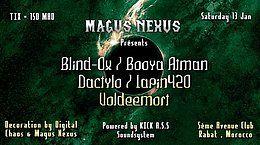 Party Flyer Magus Nexus: Indoor Sessions #1 13 Jan '18, 22:00