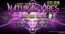 Party Flyer Natural Vibes -Assioma Live - Puglia 13 Jan '18, 22:00