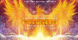Party Flyer •●❀●• Phénix •●❀●• 13 Jan '18, 23:00