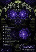 Party Flyer Prog To Psy 13 Jan '18, 22:00