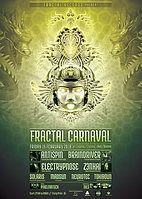 Party Flyer Fractal Carnaval 16 Feb '18, 22:00