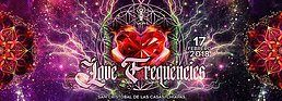 Party Flyer LOVE FREQUENCIES (Psychedelic Arts Gathering) 17 Feb '18, 22:00