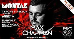 Party Flyer Montak: Max Chapman 20 Jan '18, 23:55