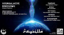 Party Flyer Intergalactic Dimension 26 Jan '18, 23:30