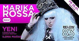 Party Flyer Marika ROSSA ★ Below83 26 Jan '18, 23:55