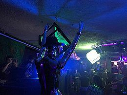 Party Flyer ॐPsychedelic Rebootॐ + Jungle Floor ! 26 Jan '18, 22:00