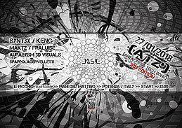 Party Flyer ATZ [Anzacresa Tech Zone] v3 - 27/01/18 - goa/psytrance/techno 27 Jan '18, 23:00