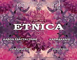 Party Flyer PsYcHeGrOuND presents: Totem with Etnica and guests 27 Jan '18, 22:00