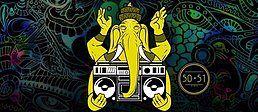 Party Flyer Tribes of Cologne meets Eulenspiegel /w Boom Shankar 27 Jan '18, 23:55