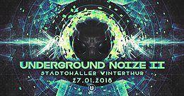 Party Flyer ♫ Underground Noize II ♫ 27 Jan '18, 23:00