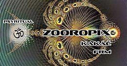 Party Flyer Psyritual w/ Zooropix 31 Jan '18, 20:00