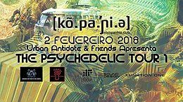 Party Flyer The Psychedelic Tour 1 :: Sex 02 Fev :: Companhia Club 2 Feb '18, 23:55