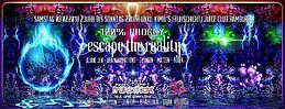 Party Flyer 100% Proggy - Escape The Reality 3 Feb '18, 23:00