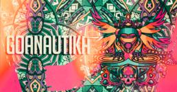 Party Flyer Goanautika with Klopfgeister , Atacama uvm. 3 Feb '18, 23:00