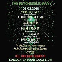 Party Flyer The Psychedelic Way Indoor Party 3 Feb '18, 22:00