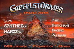 Party Flyer Gipfelstürmer 9 Feb '18, 22:00