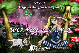 Party Flyer Wonderland ۞ Trd Edition 9 Feb '18, 23:00