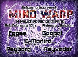 Party Flyer MIND WARP 10 Feb '18, 22:00