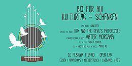 Party Flyer Bio fuer Aui | Kulturtag 10 Feb '18, 14:00