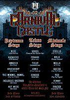 Party Flyer Carnival Castle 3 stage (PsyTrance - Tekno - Minimale) 10 Feb '18, 21:00
